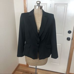 White House Black Market Black Blazer